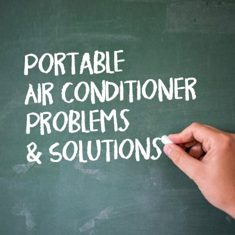 Portable air conditioner troubleshooting problems and solutions