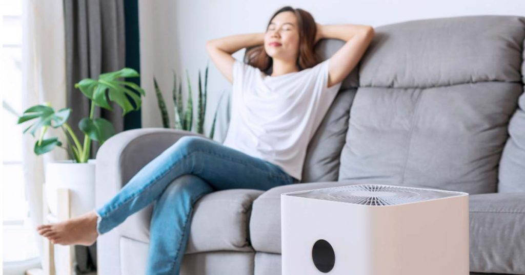 Air purifier health benefits