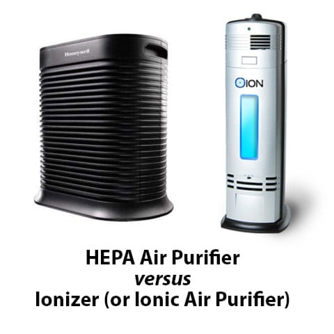 Air purifier vs ionizer
