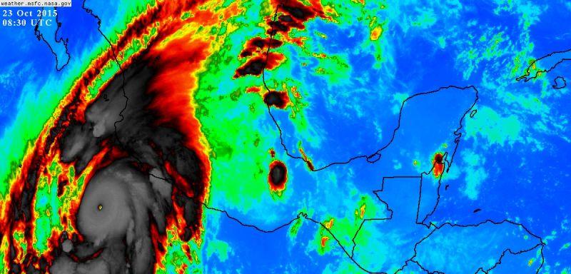hurricane patricia satelite
