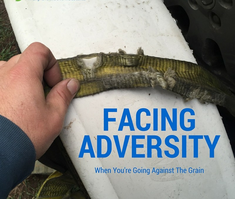 Facing Adversity When You're Going Against The Grain