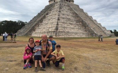 Visiting Chichen Itza and Coba with Kids