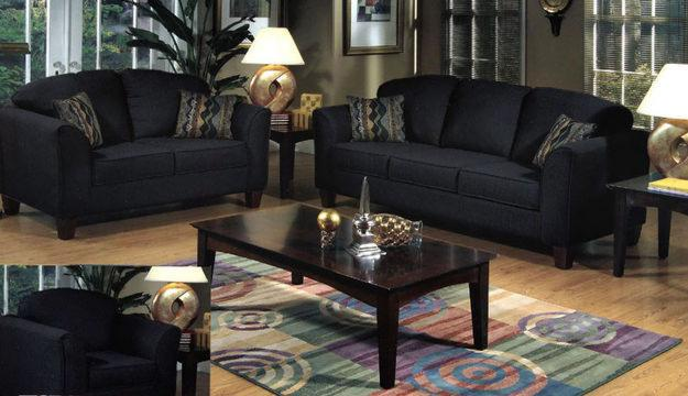 Black Design Living Room Ideas.