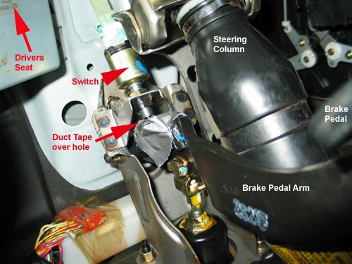 Prelude Radio Wiring Diagram Help Rear Brake Light Stuck On Abs Dash Light Also On 90