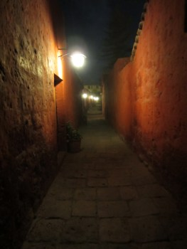 Passageway at Santa Catalina Monastary.