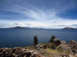 On Taquile Island.