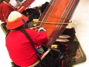 A nonprofit dedicated to preserving traditional weaving.
