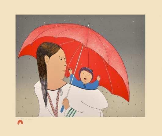 Ningeokuluk Teevee: Red Umbrella
