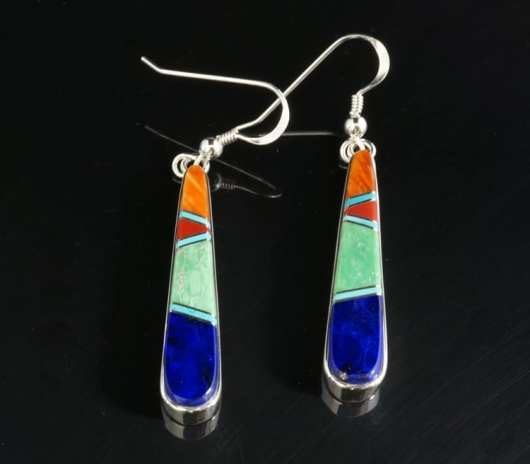 Earl Plummer Inlaid Earrings