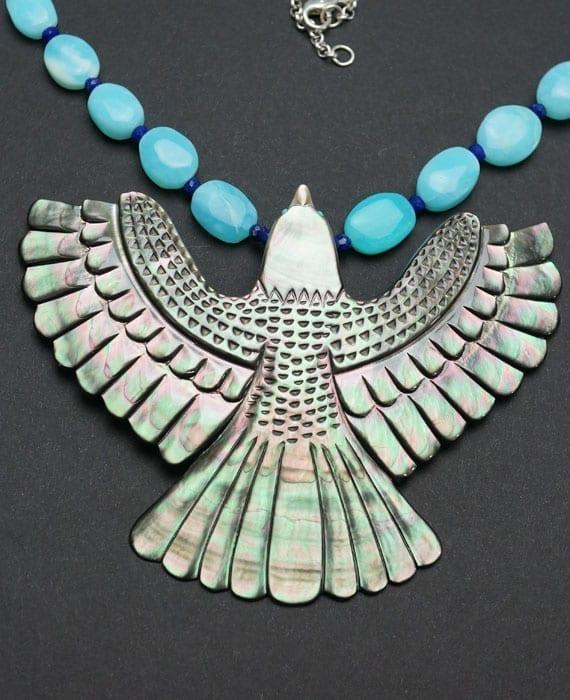 Troy Sice Bird Necklace
