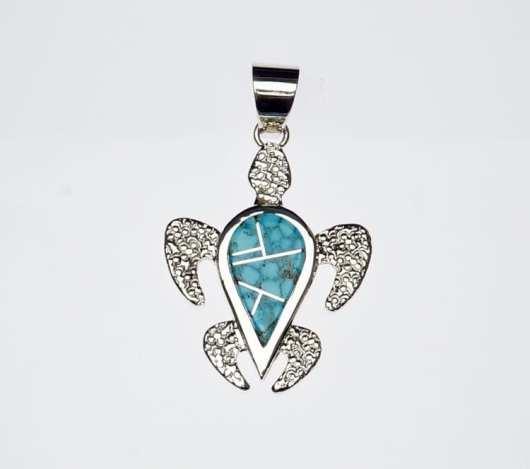 Earl Plummer turtle pendant
