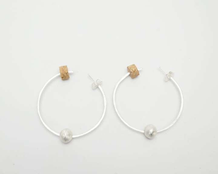 Heidi BigKnife Hoop earrings