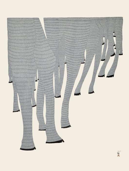Ningiukulu Teevee Caribou Legs