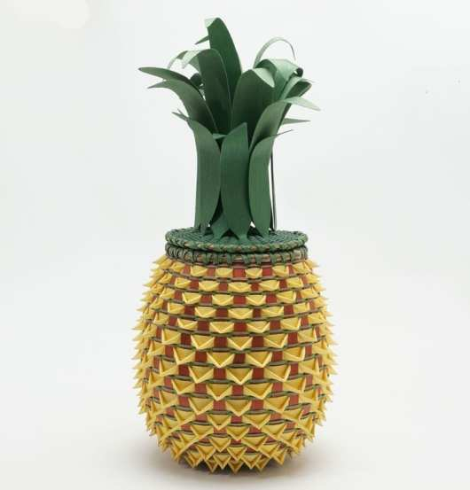 Ganessa Frey Large Pineapple Basket