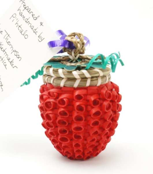 Sue Thompson Raspberry Basket