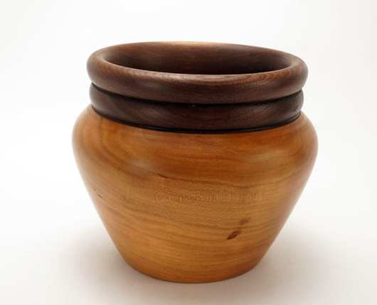 Dewey Owl cherry-walnut bowl
