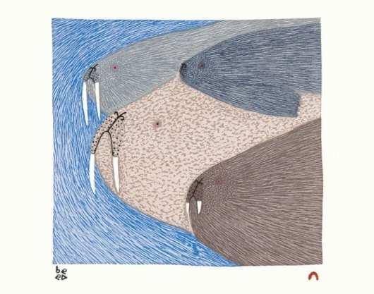NINGIUKULU TEEVEE Swimming Walrus