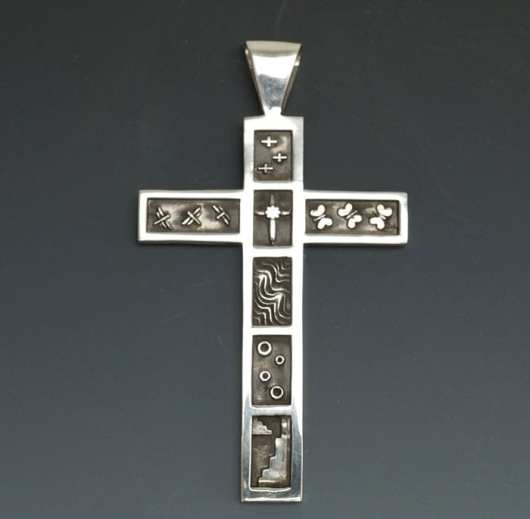 Joe Cajero Divinity Series Sterling Silver Cross