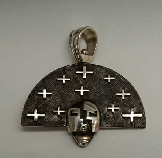 Joe Cajero Nurtured by Prayer Reversible Pendant