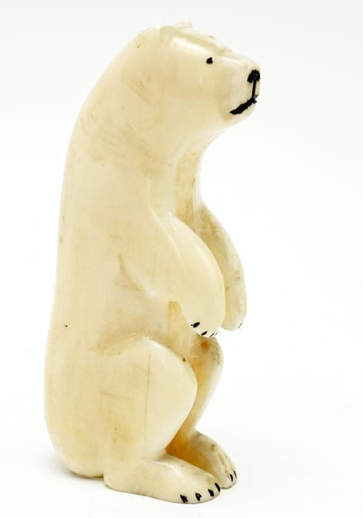 Vintage Ivory Primitive Bear