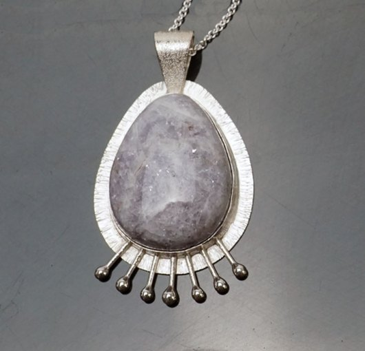 Decontie & Brown Maine Lepidolite Pendant