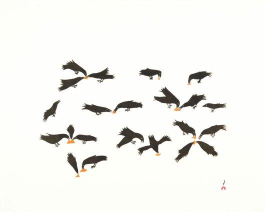 OLOOREAK ETUNGATFeeding Ravens
