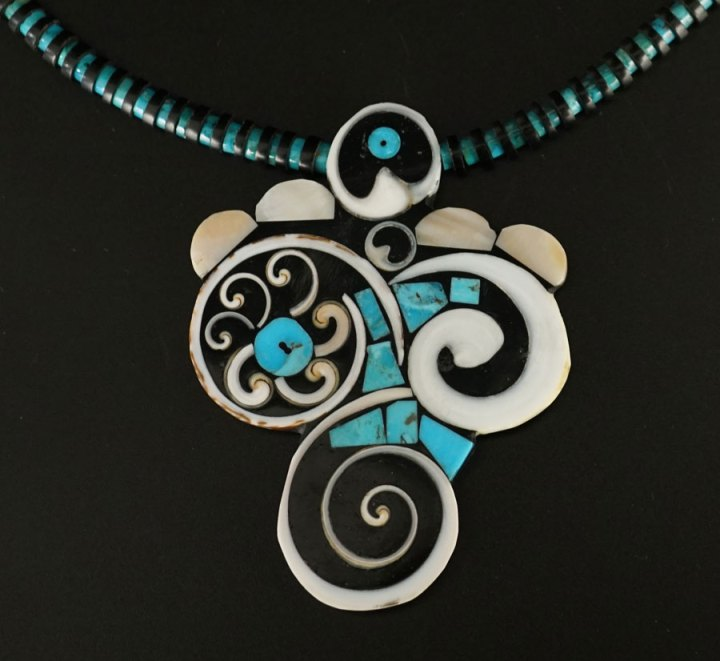 Mary Tafoya Fancy Swirl Necklace