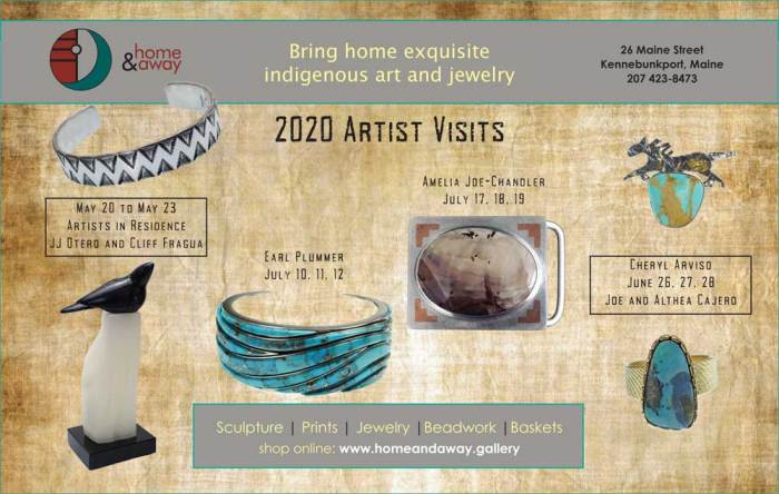 Home & Away 2020 summer artist schedule