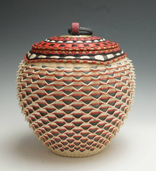 Maine Indian Baskets: Jeremy Frey Point Basket