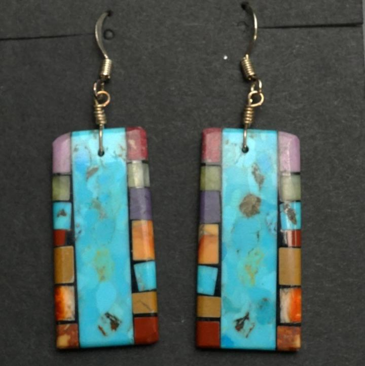 Mary Tafoya double side mosaic 125