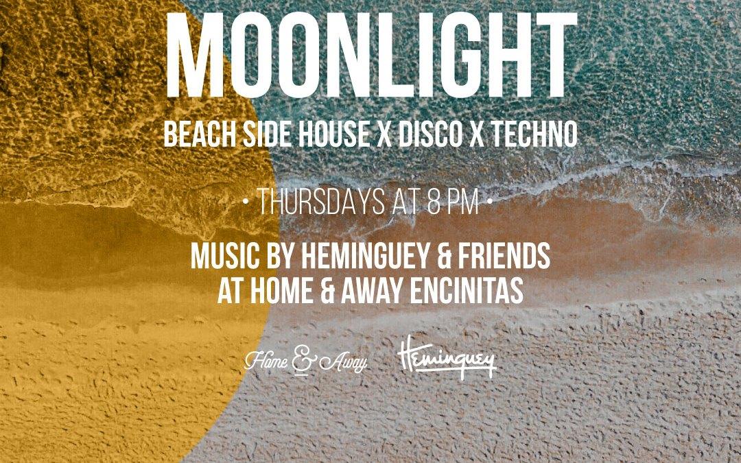 Moonlight with Heminguey – Home & Away Encinitas – Live Music