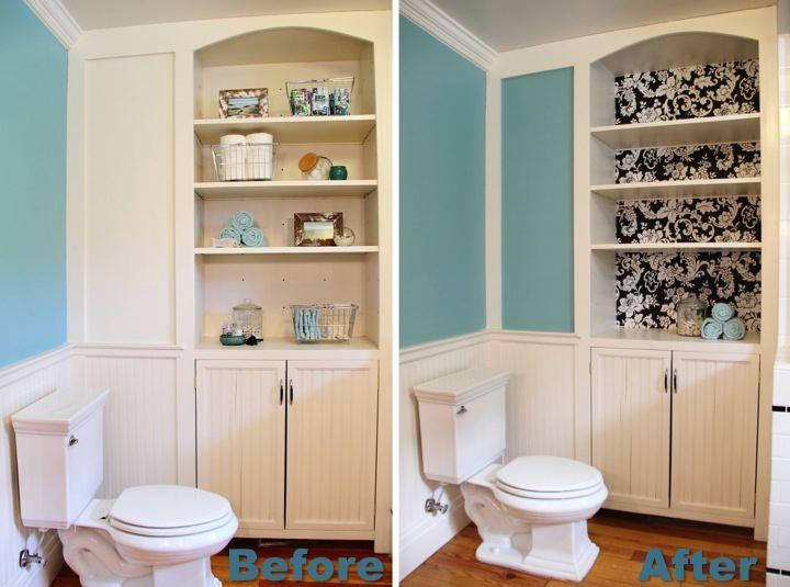 Sprucing Up the Bathroom Builtin  Blog  homeandawaywithlisa