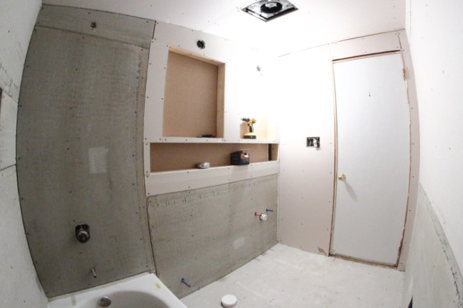 Can You Tile Over Sheetrock Bathroom - Bathroom Furniture Ideas