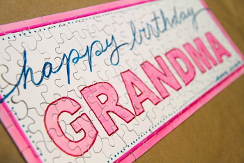 Diy Puzzle Birthday Gift For Grandma Blog Homeandawaywithlisa