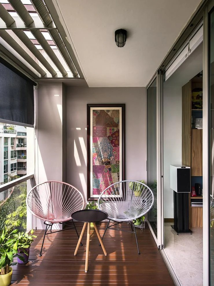 13 Balcony Designs That'll Put You At Ease Instantly