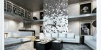 Black and silver living room inspirations  Home And ...
