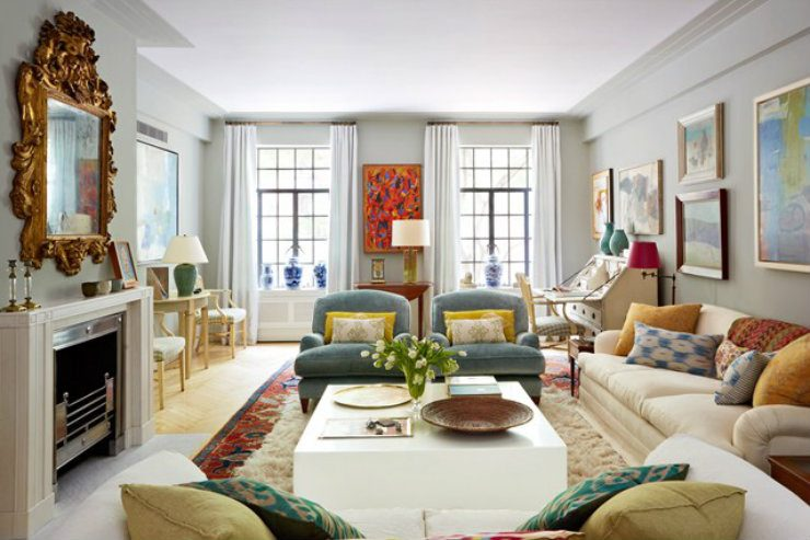 Art deco style in your living room  Home And Decoration