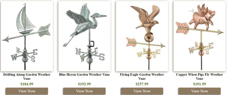 Weathervanes & Sundials Reviews