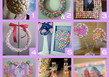 9 Conversation Heart Crafts