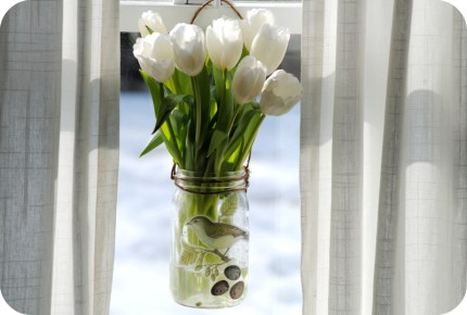 Hanging Window Vase