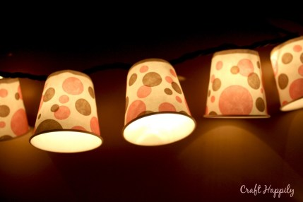 Dixie Cup Light Garland