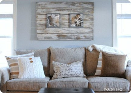 Living Room Pallet Frame