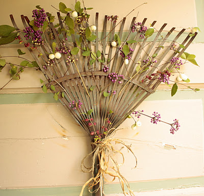 Rustic Rake for Your Door