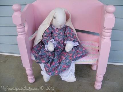 Toddler Doll Bench