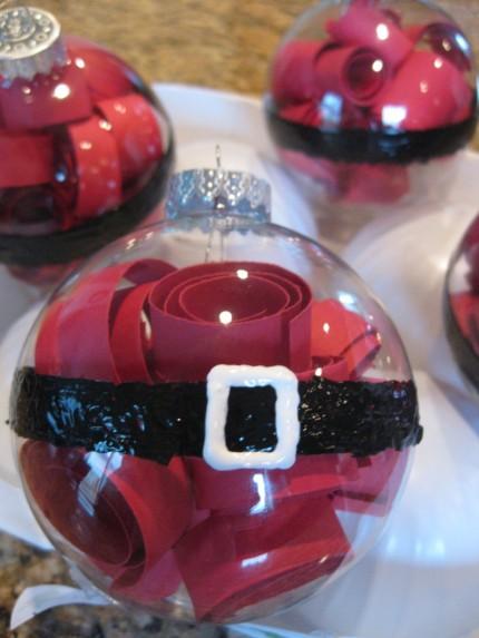 Santa's Belly Ornaments - Take 2