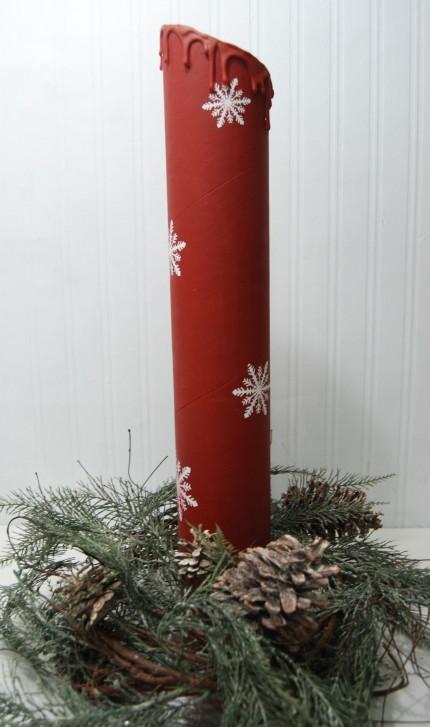 DIY Pillar Candles