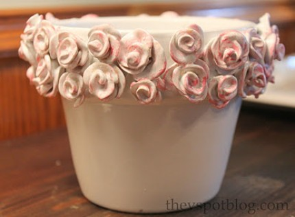 Guest Post: Clay Rose Pot