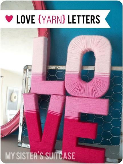 Ombre Yarn Love Letters