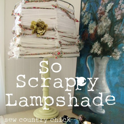 Scrappy Lampshade
