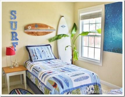 Pallet Surfboard Wal Art